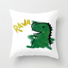 The Little Dinosaur Throw Pillow
