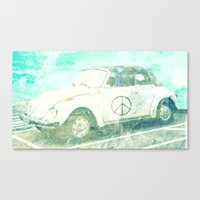 bug Canvas Prints featuring ♥ BUG by RDelean