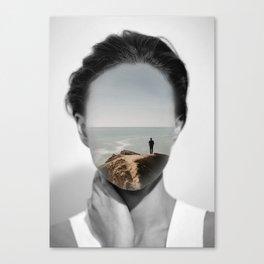 Silence 3 Canvas Print