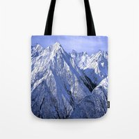 giants Tote Bags featuring Giants by Robin Curtiss