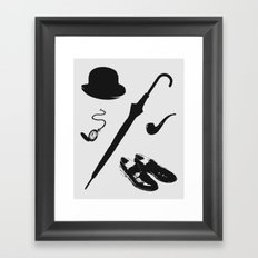 Gentleman's Accoutrements Framed Art Print