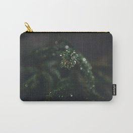 Nature closeup - after the rain Carry-All Pouch