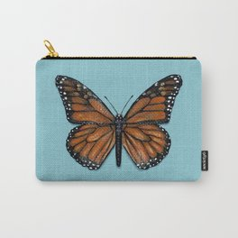 Monarch Butterfly Painting Carry-All Pouch