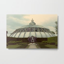 Greenhouse Garden Metal Print