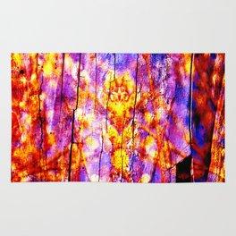 Ultra Violet Symphony of Spring Rug