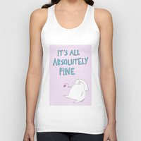 rubyetc Tank Tops featuring absolutely fine by rubyetc