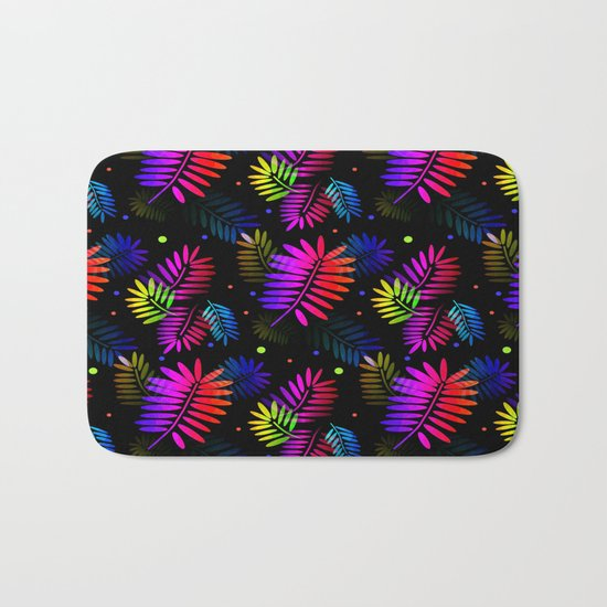 Splashy Tropics Bath Mat