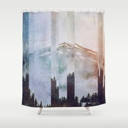 Fractions A38 Shower Curtain