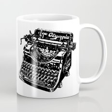 Old Typewriter Mug