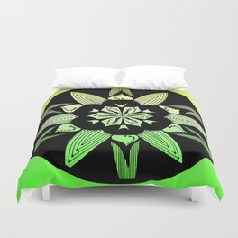 DK-145 (2009) Green and Yellow Duvet Cover