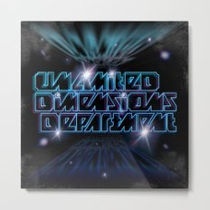 Unlimited Dimensions Department Metal Print