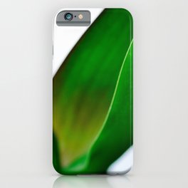 Orchid leaves iPhone Case