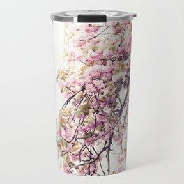 Cherry blossoms in Paris, Eiffel Tower II Travel Mug