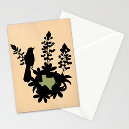 Texas - State Papercut Print Stationery Cards