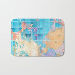 Mosaic Paint Spill V2 #society6 #decor #buyart Bath Mat