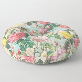 Floral B Floor Pillow