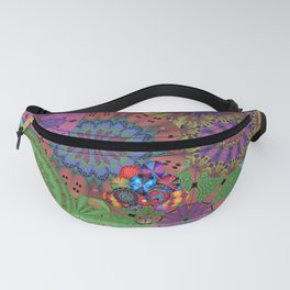 Little Brown Pig In A Big Colourful World Fanny Pack