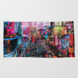 Sweet City Beach Towel