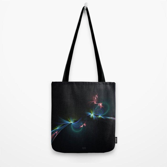 Fey Lights Fractal in Aurora 01 Tote Bag