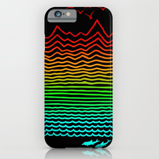High Up Above Or Down Below iPhone & iPod Case