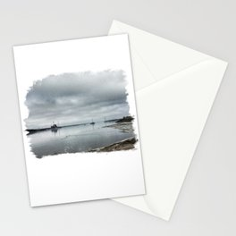 Mississippi River - Moline, Illinois - Winter 2017 Stationery Cards