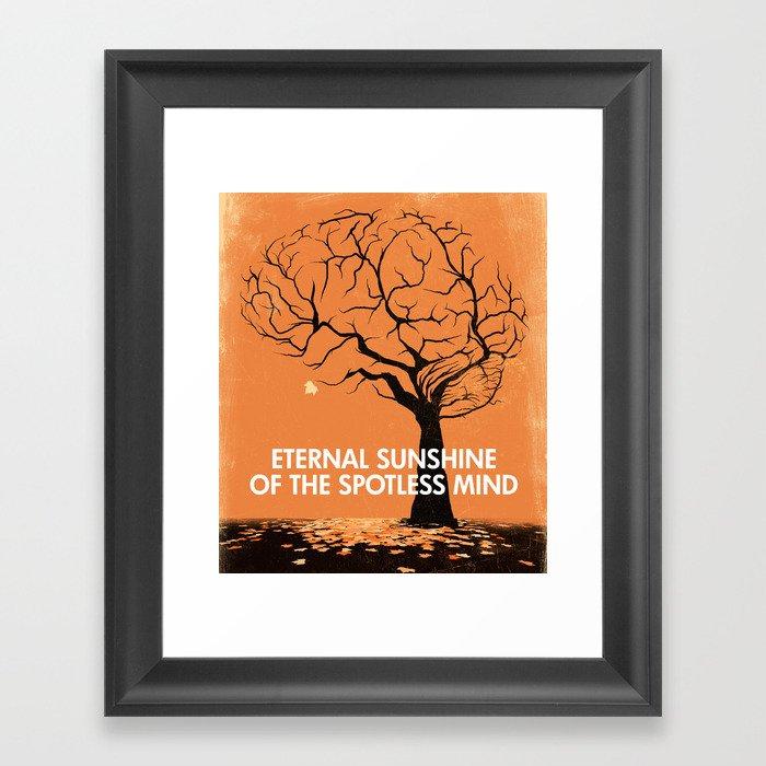 Eternal Sunshine Of The Spotless Mind - Movie Poster Framed Art Print