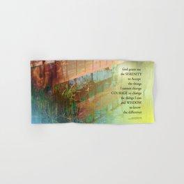Serenity Prayer Long Bridge Hand & Bath Towel