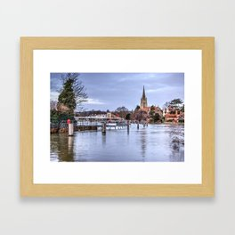 Marlow Bridge Framed Art Print