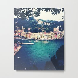 A vintage day in Portofino Metal Print