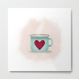 A warm place in your heart Metal Print