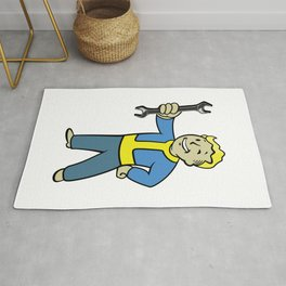 Vault Boy Mechanic Rug