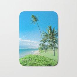 Waipuilani Beach Kīhei Maui Hawaii Bath Mat