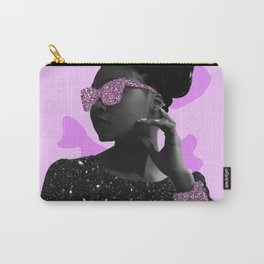 Rock Star Glitter Collage Carry-All Pouch