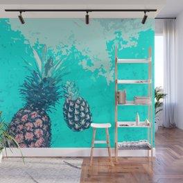 Pineapple Float Wall Mural
