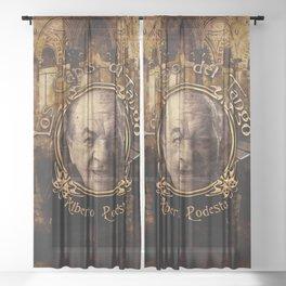 Capos del Tango • Alberto Podesta Sheer Curtain