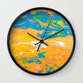 Fluid No. 23 Wall Clock