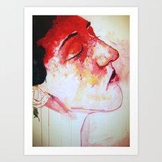 Headache Art Print