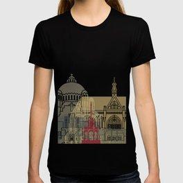 Liege skyline poster T-shirt
