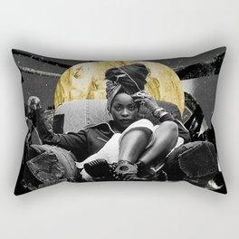 ode to badu; the lobo war XIII Rectangular Pillow