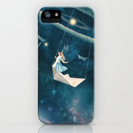 My Favourite Swing Ride iPhone Case