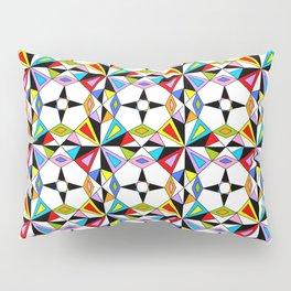 symetric patterns 74-mandala,geometric,rosace,harmony,star,symmetry Pillow Sham
