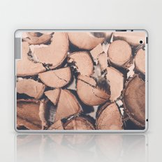 Wood Pile Laptop & iPad Skin