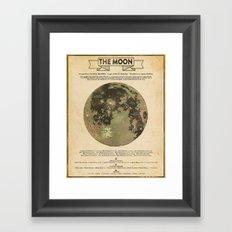 Selenography Framed Art Print