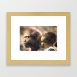 Mother And Child Framed Art Print