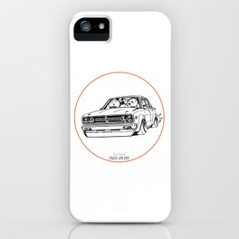Crazy Car Art 0222 iPhone Case