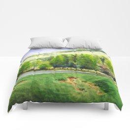 rolling hills Comforters