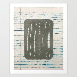 Eraser Shield Art Print