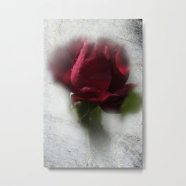 dreaming red Metal Print