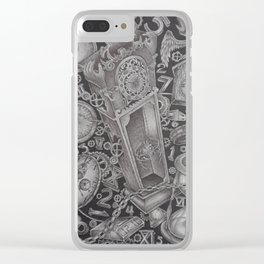 waste of time Clear iPhone Case
