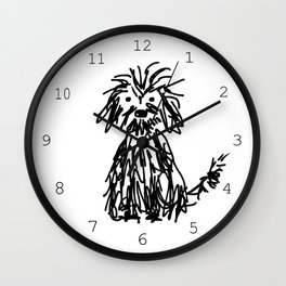 Doggy day Wall Clock
